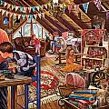 The Attic Print by Steve Crisp