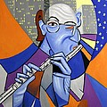 The Flutist by Anthony Falbo