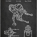 Toy Space Vehicle Patent by Aged Pixel