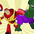 Toy Story Avengers by Lisa Leeman