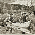 Trapping In The Adirondacks by Winslow Homer