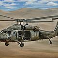 Uh-60 Blackhawk by Dale Jackson