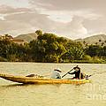 Vietnamese Fishermen by Fototrav Print