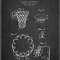 Vintage Basketball Goal Patent From 1936 by Aged Pixel