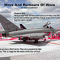 Wars And Rumours Of Wars by Bible Verse Pictures
