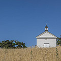 White Country Church by David Litschel