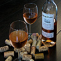 Wine and Corks Print by Douglas J Fisher