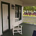 Ryckman House In Melbourne Beach Florida by Allan  Hughes