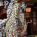 Mosaic Pillar Poster by Charles Lucas