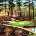 12th Hole At Augusta  by Tim Gilliland