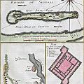 1750 Bellin Map Of The Senegal by Paul Fearn