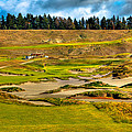 #18 At Chambers Bay Golf Course - Location Of The 2015 U.s. Open Tournament by David Patterson