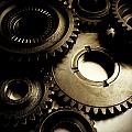 Cogs by Les Cunliffe