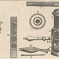 18th Century Microscope, Artwork by Science Photo Library