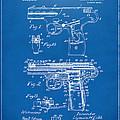 1911 Automatic Firearm Patent Artwork - Blueprint by Nikki Marie Smith