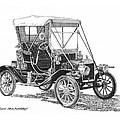 1911 Ford Model T Tin Lizzie by Jack Pumphrey