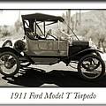 1911 Ford Model T Torpedo by Jill Reger