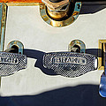 1911 Pope Hartford Model W 4 Cylinder 50 HP 7 Passenger Brake-Clutch Pedals Print by Jill Reger