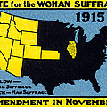 1915 Vote For Women's Suffrage by Historic Image