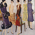 1920s Fashion  1925 1920s Uk Womens by The Advertising Archives