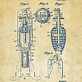 1921 Explosive Missle Patent Vintage by Nikki Marie Smith