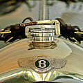 1925 Bentley 3-liter 100mph Supersports Brooklands Two-seater Radiator Cap by Jill Reger