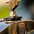 1925 Isotta Fraschini Tipo 8a S Corsica Boattail Speedster Hood Ornament by Jill Reger