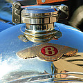 1927 Bentley Hood Ornament by Jill Reger