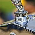 1927 Franklin Sedan Hood Ornament by Jill Reger