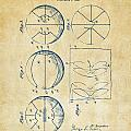 1929 Basketball Patent Artwork - Vintage by Nikki Marie Smith