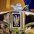 1929 Bianchi S8 Graber Cabriolet Hood Ornament And Emblem by Jill Reger