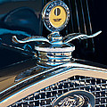 1931 Model A Ford Deluxe Roadster Hood Ornament Print by Jill Reger
