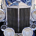 1933 Packard 12 Convertible Coupe Grille Print by Jill Reger