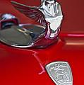 1933 Plymouth Hood Ornament by Jill Reger