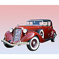 1935 Auburn 8 Phaeton 851 by Jack Pumphrey