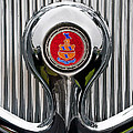 1935 Pierce-arrow 845 Coupe Emblem by Jill Reger