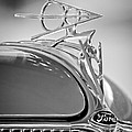 1936 Ford Deluxe Roadster Hood Ornament 2 by Jill Reger