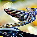 1938 Cadillac V-16 Hood Ornament 2 Print by Jill Reger