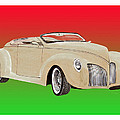 1939 Lincoln Zephyr Speedster by Jack Pumphrey
