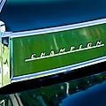 1941 Sudebaker Champion Coupe Emblem by Jill Reger