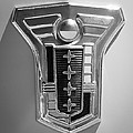1949 Mercury Station Wagon Emblem by Jill Reger