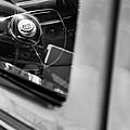 1950 Ford Custom Deluxe Woodie Station Wagon Steering Wheel Emblem by Jill Reger