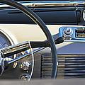 1950 Oldsmobile Rocket 88 Steering Wheel 3 by Jill Reger