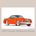 1952 Chrysler Delegance Concept by Jack Pumphrey