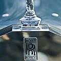 1952 Rolls-royce Hood Ornament by Jill Reger