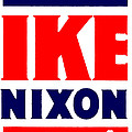 1952 Vote Ike And Nixon by Historic Image