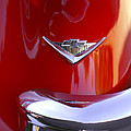 1955 Chevrolet Belair Nomad Emblem by Jill Reger
