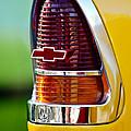 1955 Chevrolet Taillight Emblem by Jill Reger