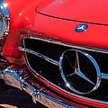 1955 Mercedes-benz 300sl Gullwing Grille Emblems by Jill Reger