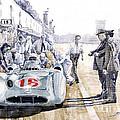1955 Mercedes Benz W 196 Str Stirling Moss Italian Gp Monza by Yuriy  Shevchuk